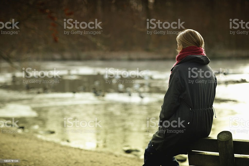 Spending free time royalty-free stock photo