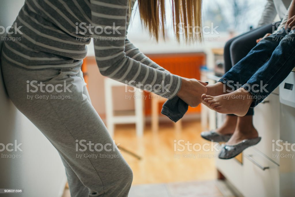 Spending quality time togather stock photo
