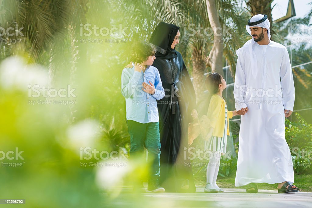Spending Time Together stock photo