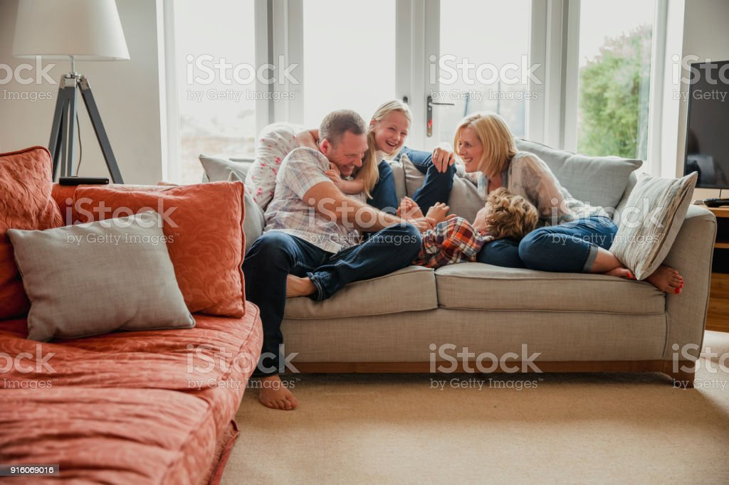 Spending Time with Family stock photo