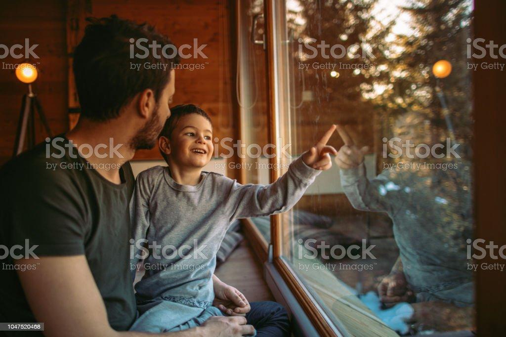 Verbringt Zeit mit mein Junge – Foto