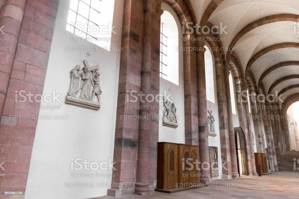 Speyer Cathedral, Germany zbiór zdjęć royalty-free