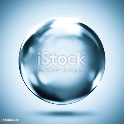 istock sphere crystal reflection background 519666635