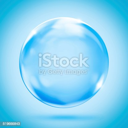 istock sphere crystal reflection background 519666843