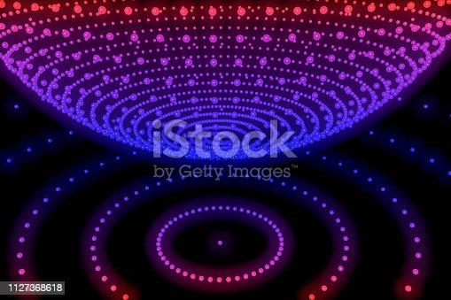 istock Sphere, Global digital mesh network 1127368618