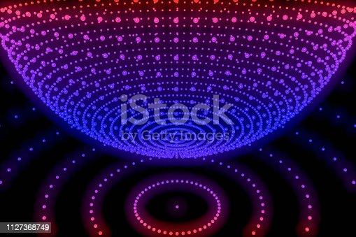 istock Sphere, Global digital mesh network 1127368749
