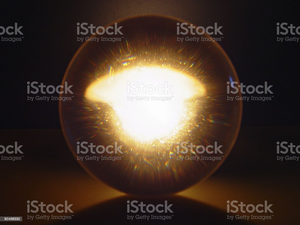 Sphere of the Eye royalty-free stock photo