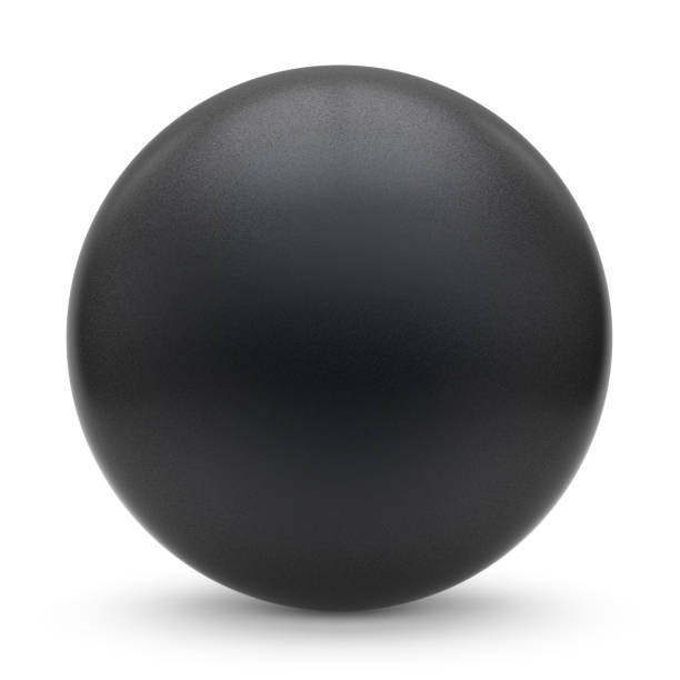 sphere round button black matted ball basic circle geometric - sphere stock pictures, royalty-free photos & images