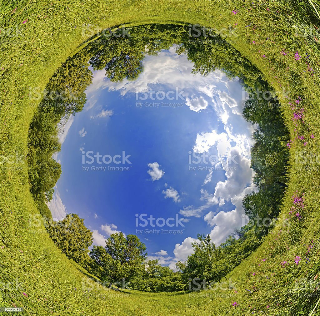Sphere world royalty-free stock photo