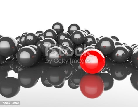 istock Spheres Abstract background 453610559