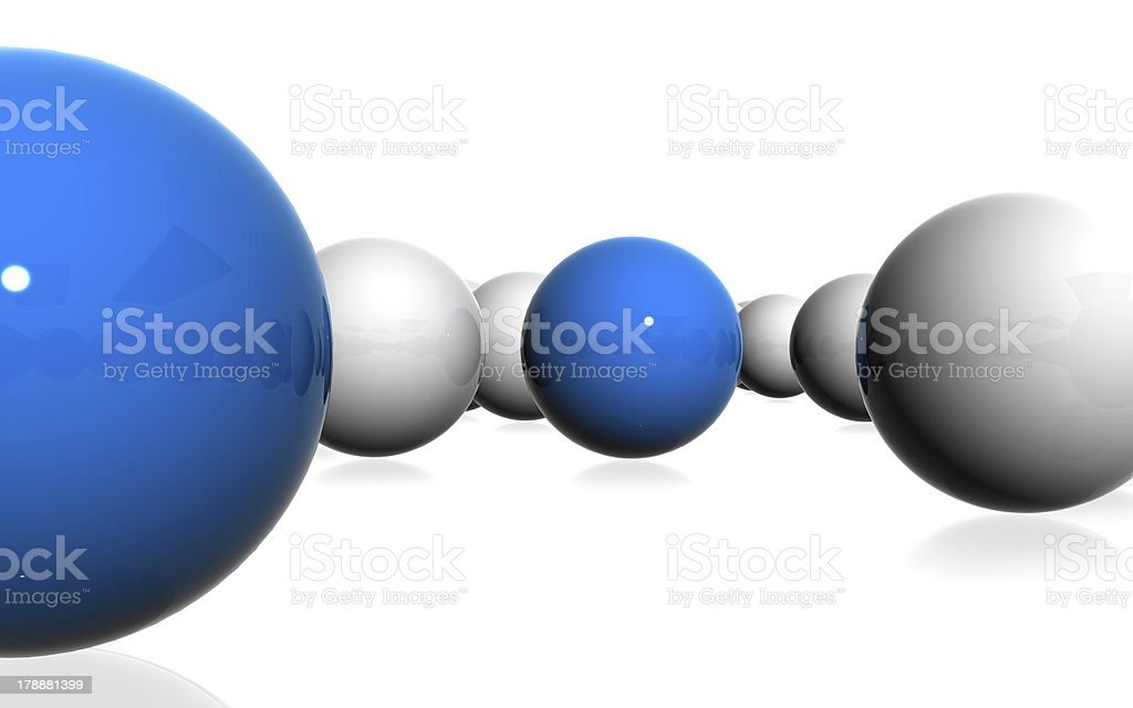 spheres royalty-free stock photo