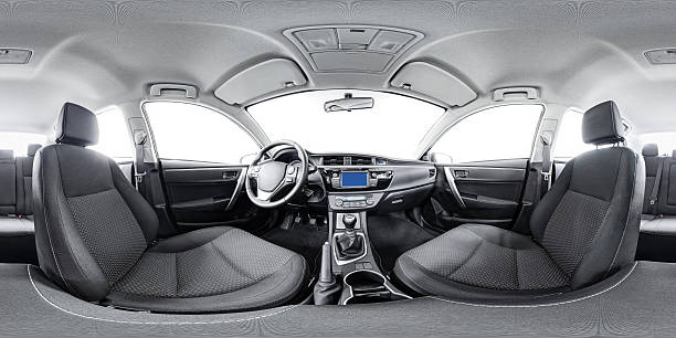 spherical 360 panorama of car Spherical panorama 360 inside car equidistant panorama inside car. Vehicle interior panorama 360 degree of auto virtual panorama vehicle interior 360. 360 panorama of auto. Inside automobile panorama 360 degree view stock pictures, royalty-free photos & images