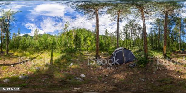 Spherical panorama 360 degrees 180 tent on camping in the forest picture id801617458?b=1&k=6&m=801617458&s=612x612&h=engekilyzrvv37ymwtxp 4t6twa0b61q 2ve77y7ws8=
