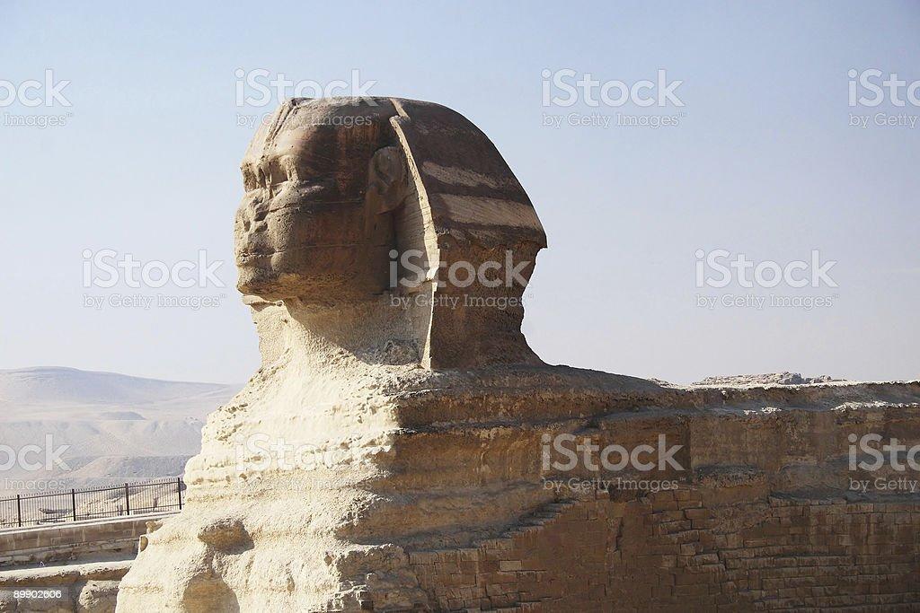 Große Sphinx von Gizeh, Kairo Lizenzfreies stock-foto