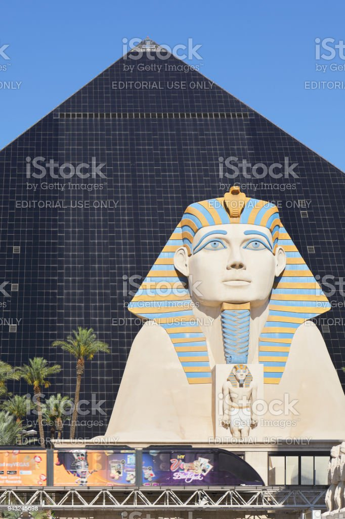 Sphinx - Luxor Las Vegas stock photo