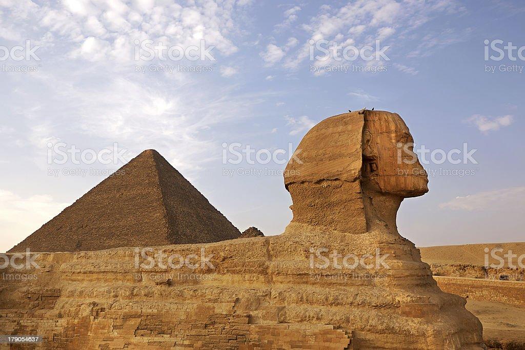 Sphinx of Giza royalty-free stock photo