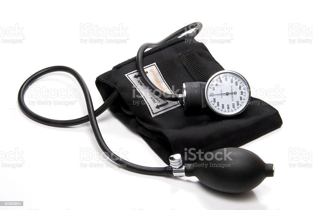 Sphygmomanometer stock photo