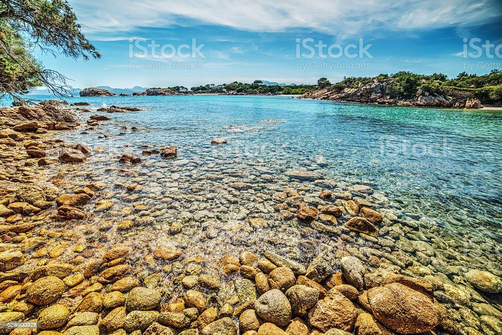 Spiaggia del Principe in Sardinia stock photo