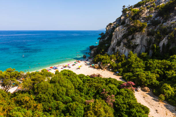 Spiaggia di Ziu Martine beach stock photo
