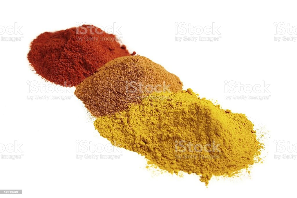 Spice assortment royalty-free stock photo