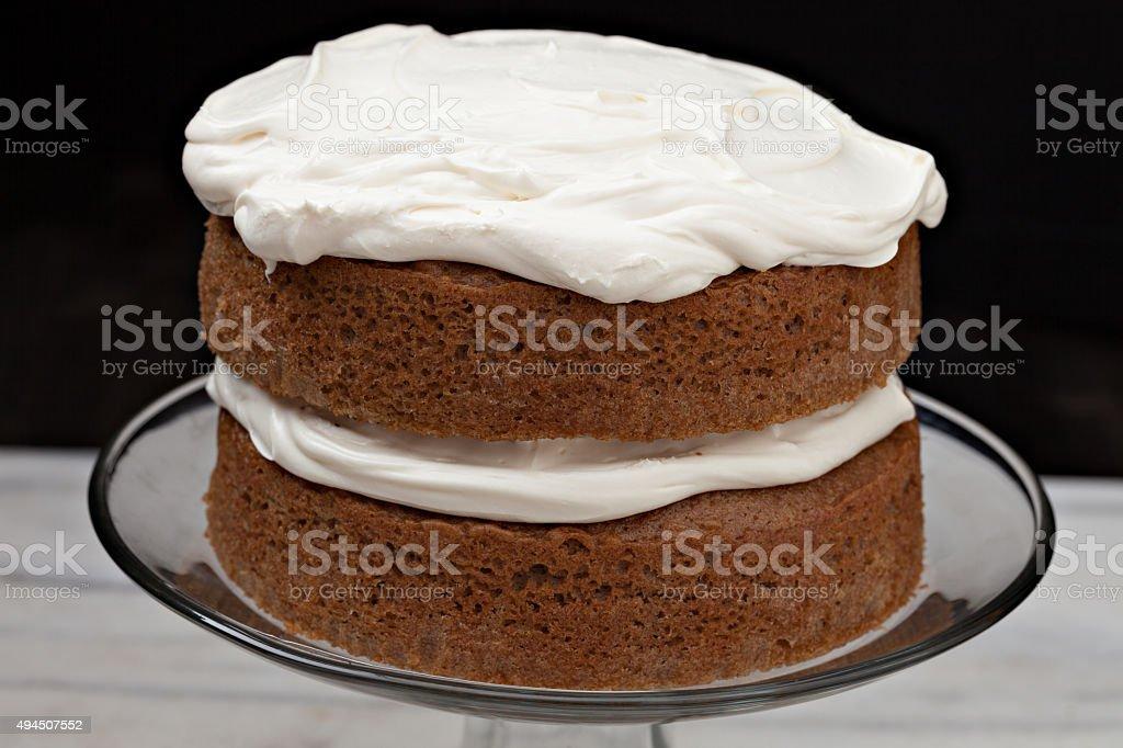 Spice Layer Cake stock photo