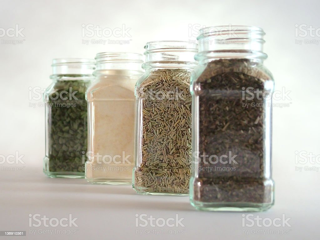 Spice Lineup stock photo