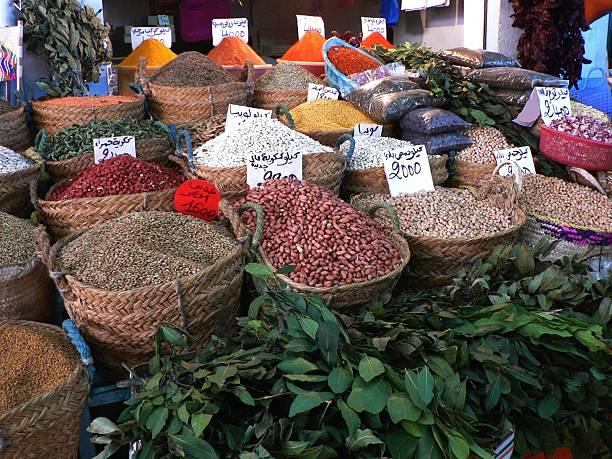 Spice Market in Sfax, Tunisia