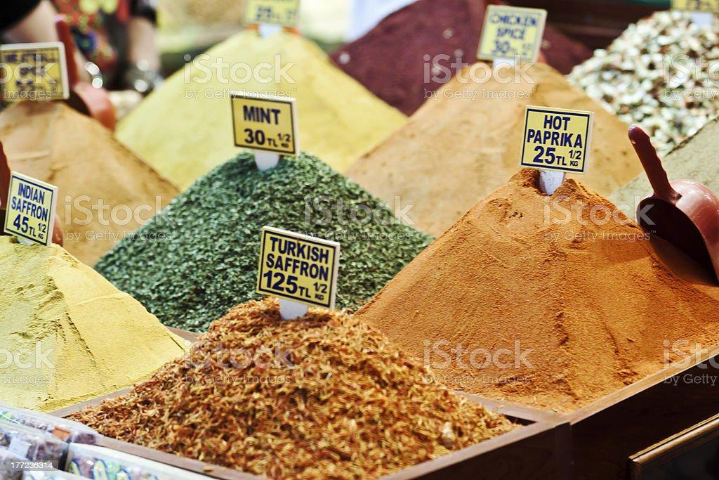 Spice Market - Istanbul royalty-free stock photo