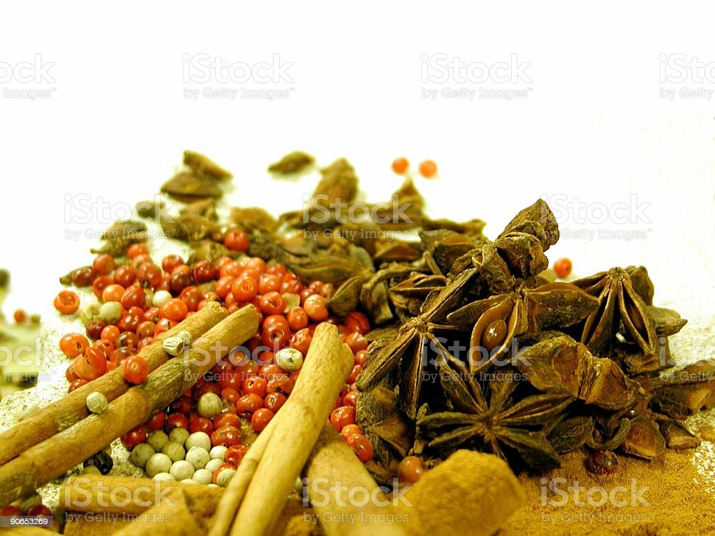 Spice Perspective royalty-free stock photo