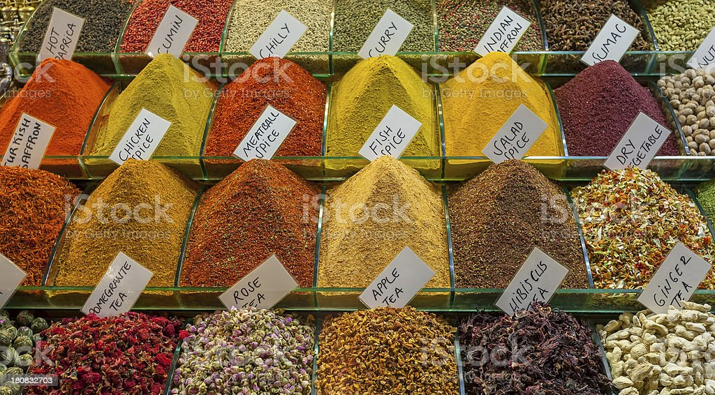 Spice stock photo
