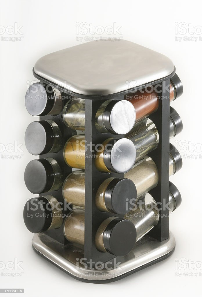 Spice Rack royalty-free stock photo