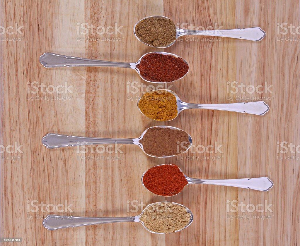Spice Row royalty-free stock photo