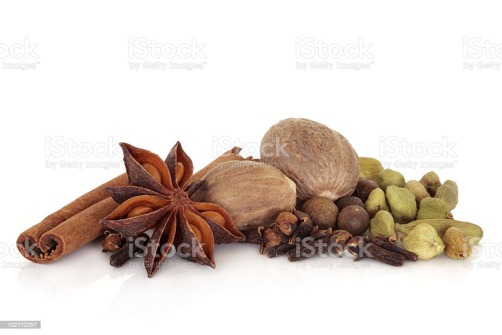 Spice Selection royalty-free stock photo