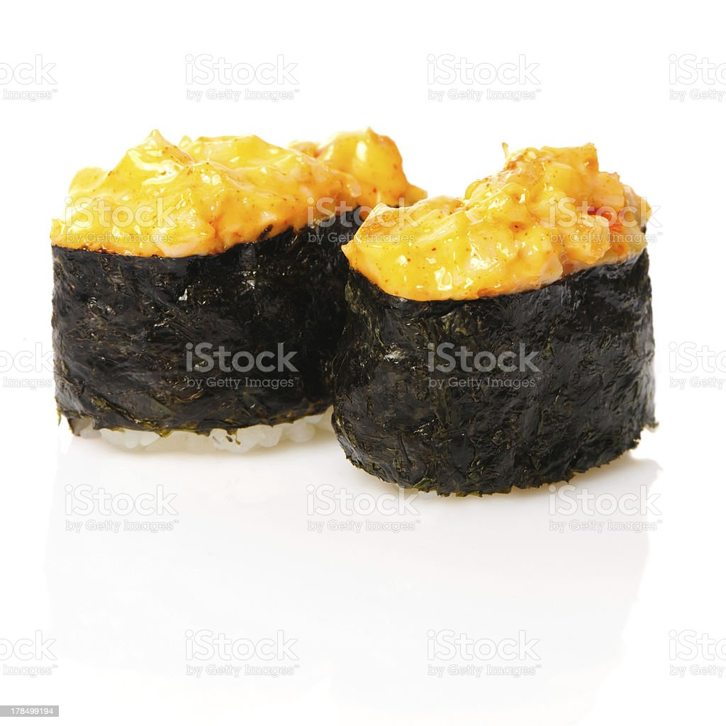 Spice sushi royalty-free stock photo