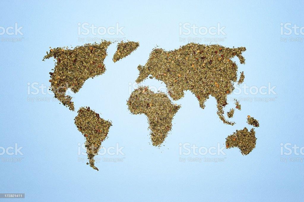 Spice world royalty-free stock photo