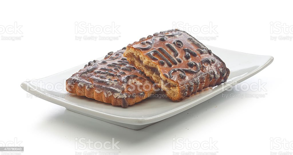 Spice-cake stock photo