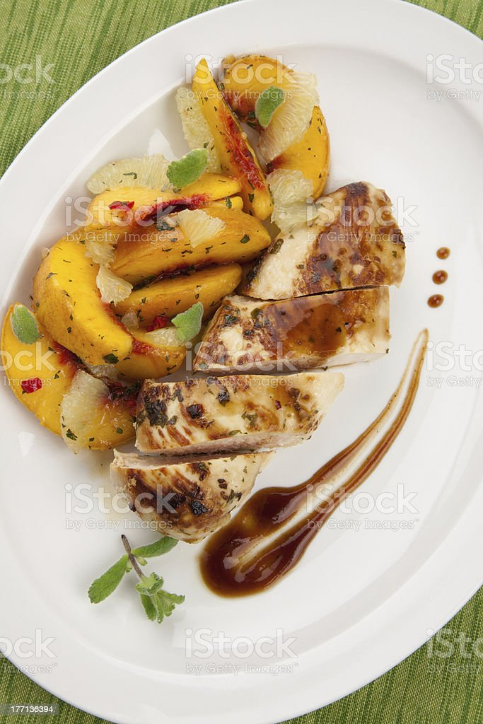 Spiced Chicken Breast royalty-free stock photo