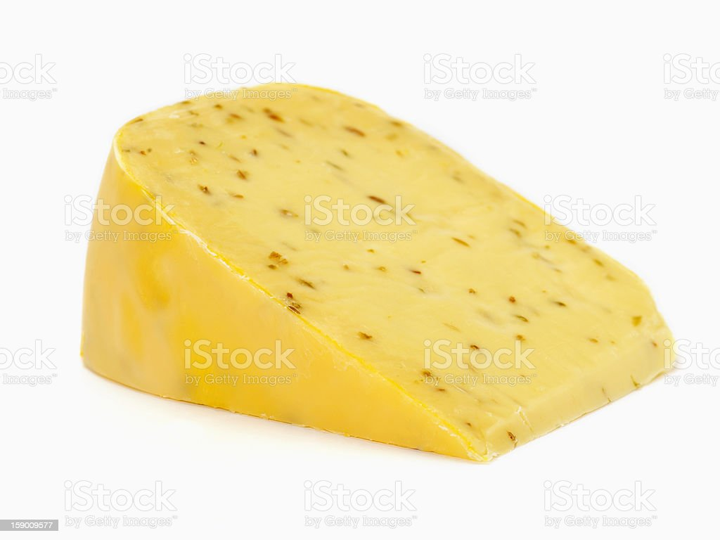 Spiced Gouda Cheese royalty-free stock photo
