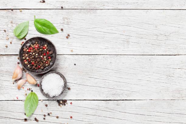 spices and herbs - sól przyprawa zdjęcia i obrazy z banku zdjęć
