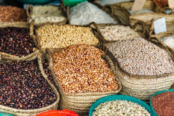 Gewürze und Hülsenfrüchte von Sansibar – Foto
