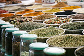 Herbalist market mixed spices for sale