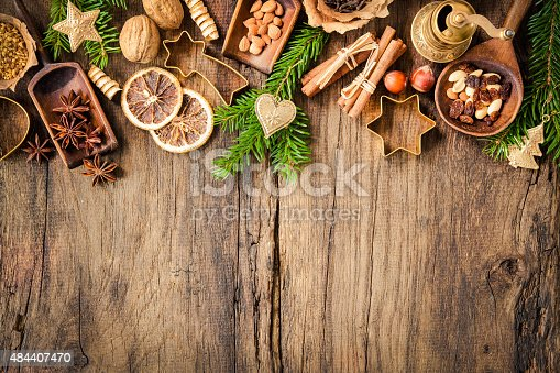 istock Spices for Christmas cakes 484407470