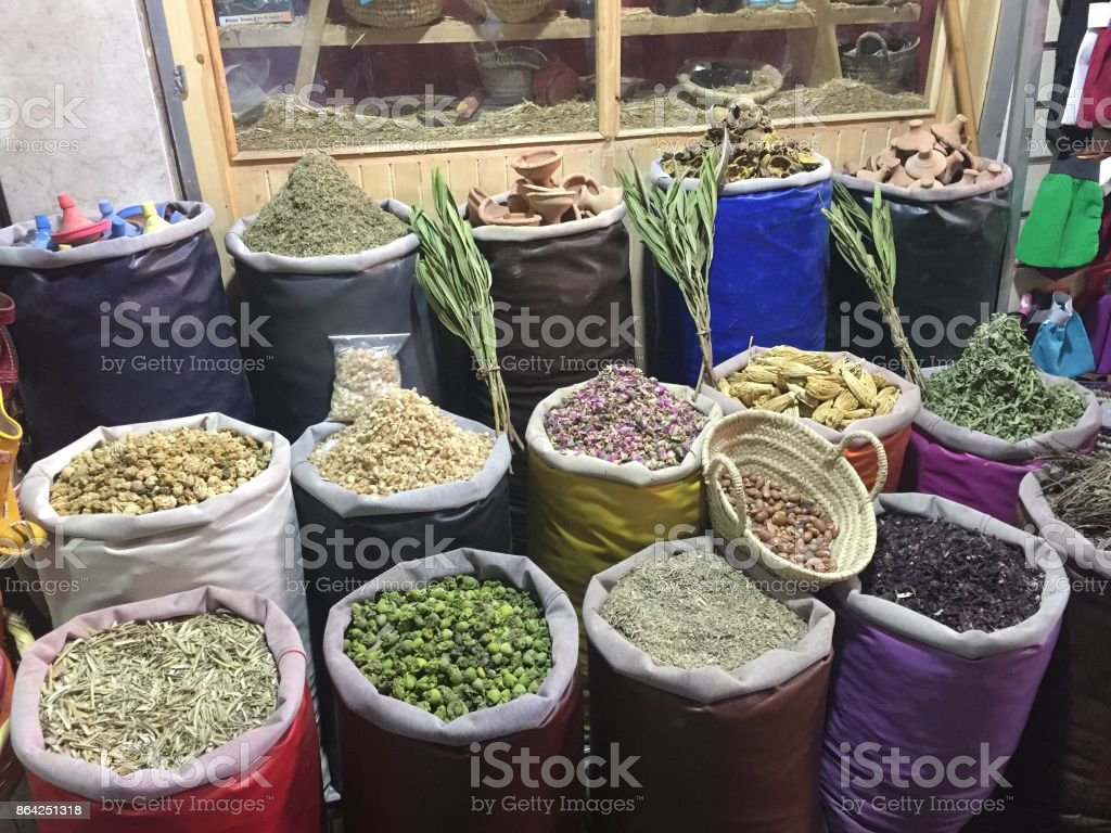 Spices Marrakesh royalty-free stock photo
