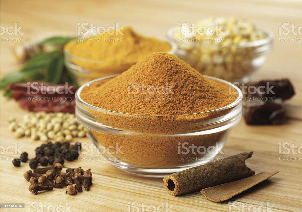 spices, masala stock photo