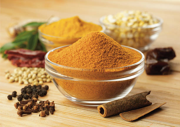 spices, masala close up of spices garam masala stock pictures, royalty-free photos & images