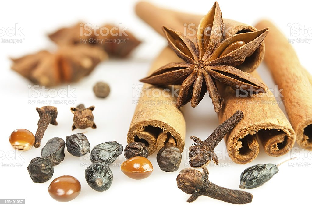 spices mix royalty-free stock photo