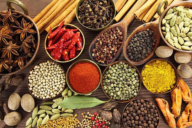 Spices - foto de stock