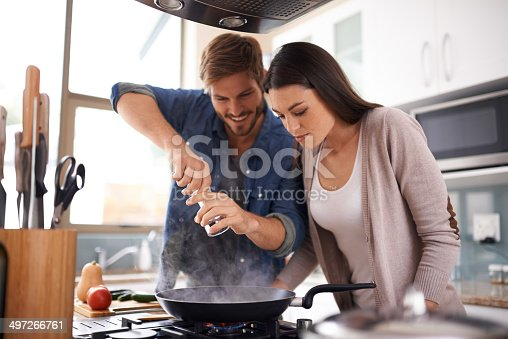 istock Spicing things up 497266761
