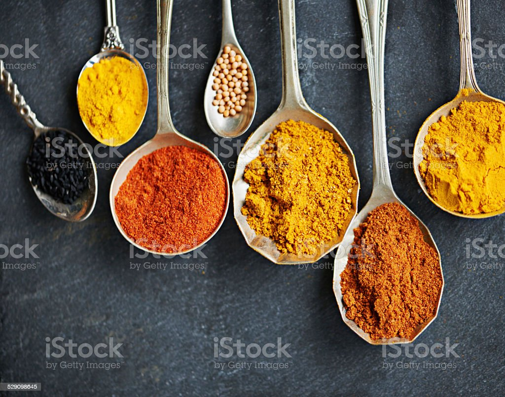 Spicing up your life stock photo