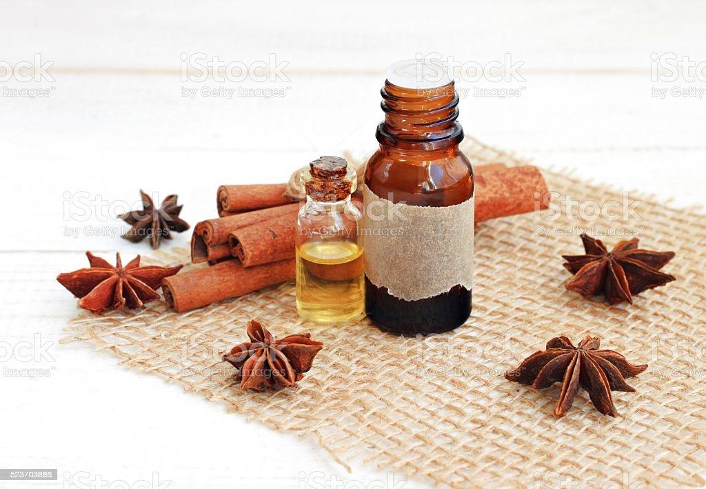 Spicy aromatherapy. stock photo